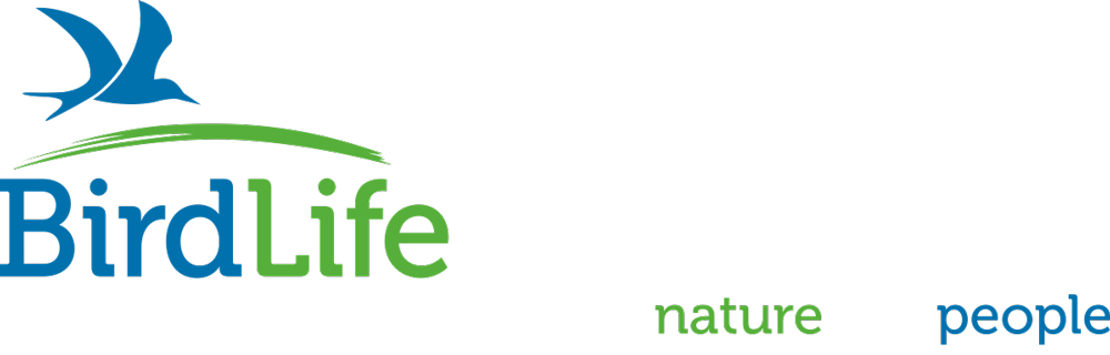 Logo. BirdLife International. Partnership for nature and people.